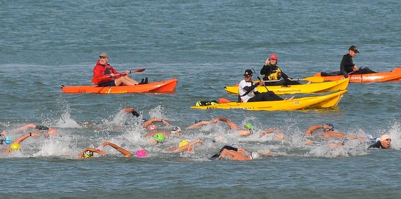 Campeonato de aguas abiertas y frías
